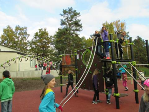 New Playground Opens at IESH!